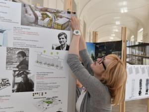 Studenti architektury vystavují svoje vize podoby města
