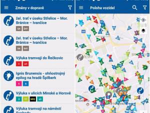Dopravní podnik spustil novou aplikaci. Nabízí přehled o dopravě nebo pomoc s nákupem jízdenky