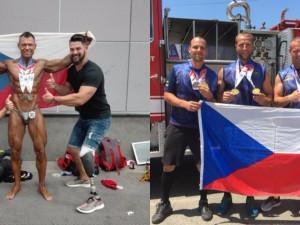 Jihomoravští hasiči ovládli světové hasičské hry v Los Angeles