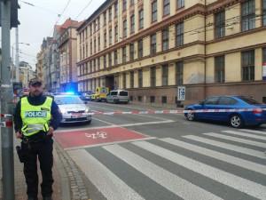 Na brněnské střední škole nahlásil dnes anonym bombu. Měla vybuchnout do hodiny