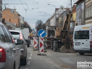 Brněnské řidiče čekají příští rok velké dopravní komplikace