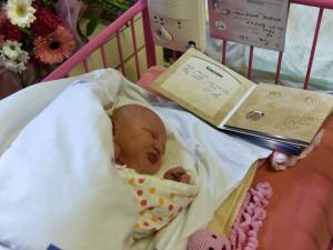 Prvním narozeným miminkem v Brně je holčička Darinka