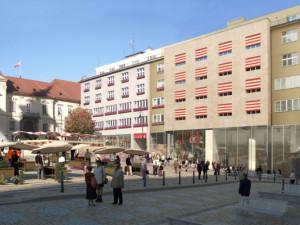 Brno dnes začne s rekonstrukcí Dominikánského náměstí, parkovacích míst se práce zatím nedotknou
