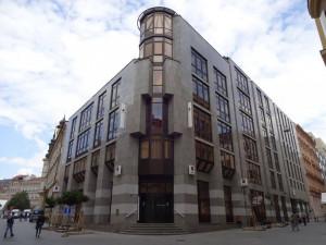 Začala přestavba budovy v centru Brna, na místě bývalé Komerční banky