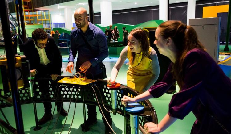 VIDA! science centrum se večer promění v casino sjazzovou kapelou