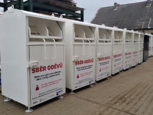 V Brně přibudou nové kontejnery na staré oblečení. Pomůžou charitě i životnímu prostředí