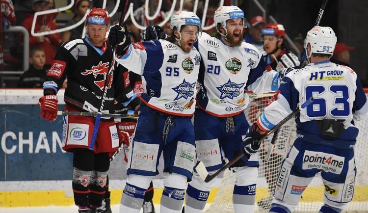 VIDEO: Mistři! Kometa obhájila titul a stala se nejúspěšnějším hokejovým klubem české historie
