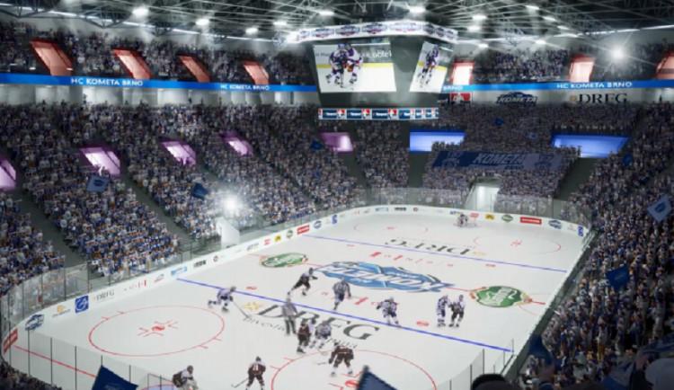 Lužánky? Kdepak. Do čtyř let postavíme novou hokejovou halu na výstavišti, prohlásil primátor