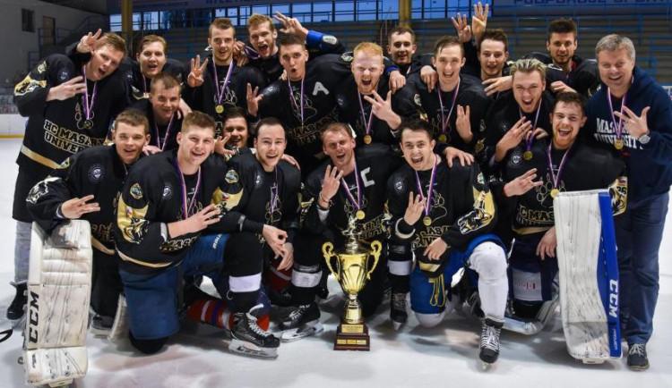 Brno má dalšího hokejového mistra! Hráči Masaryčky vyhráli akademické mistrovství republiky