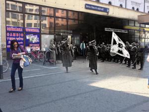 FOTO: Vybombardované město nebo Hitler v ulicích současného Brna. Podívejte se na pozoruhodné koláže