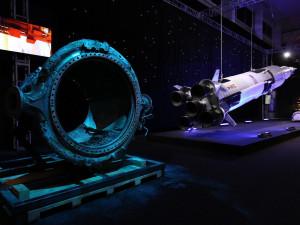 Největší výstava o kosmonautice světa nabízí orbitální stanici, trysku rakety nebo pravý meteorit