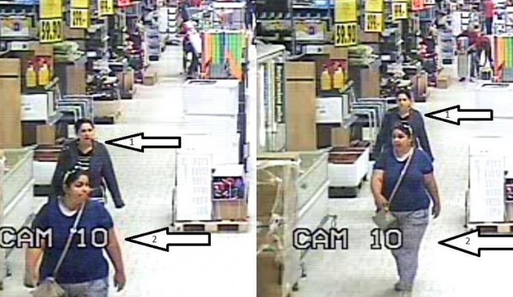 FOTO: Tyto dvě zlodějky ukradly v Kauflandu jiné ženě kabelku. Nepoznáte je?