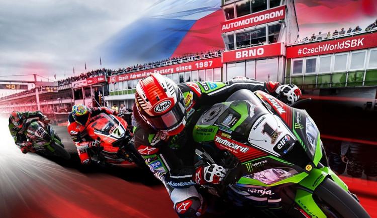 SOUTĚŽ: Do Brna se vrací mistrovství světa superbiků. O vítězství se porve i Brňan Ondřej Ježek