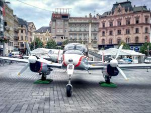 FOTO&VIDEO: Na Svoboďáku přistáli orli československého nebe