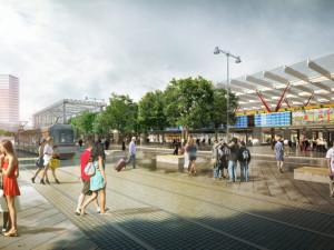 Schváleno. Vláda souhlasí s přesunem brněnského nádraží k řece, s metrem však nepočítá