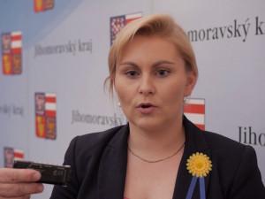Taťána Malá zůstane náměstkyní hejtmana na jižní Moravě