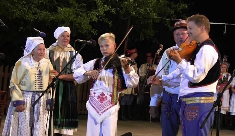 Dnes začínají unikátní folklorní Horňácké slavnosti