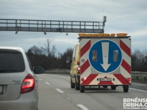 Oprava silnice I/43 skončila dříve. Úsek mezi Lipůvkou a Kuřimí je opět průjezdný