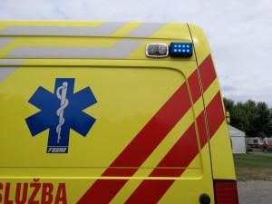 U Černé hory se čelně srazil kamion s osobákem. Řidič na místě zemřel