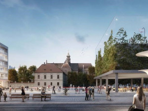FOTO: Větší park, zklidnění dopravy. Město vyhlásilo vítěze soutěže na novou podobu Mendláku