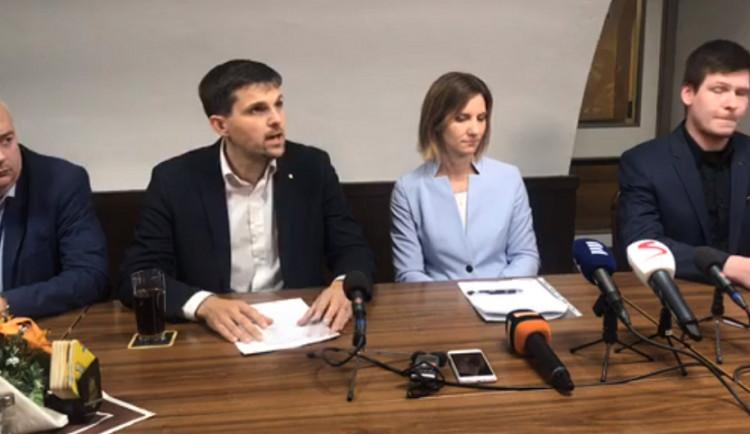 Koalice v Brně ještě není stoprocentně jistá. Rozhodnou o ní Piráti vnitrostranickým hlasováním