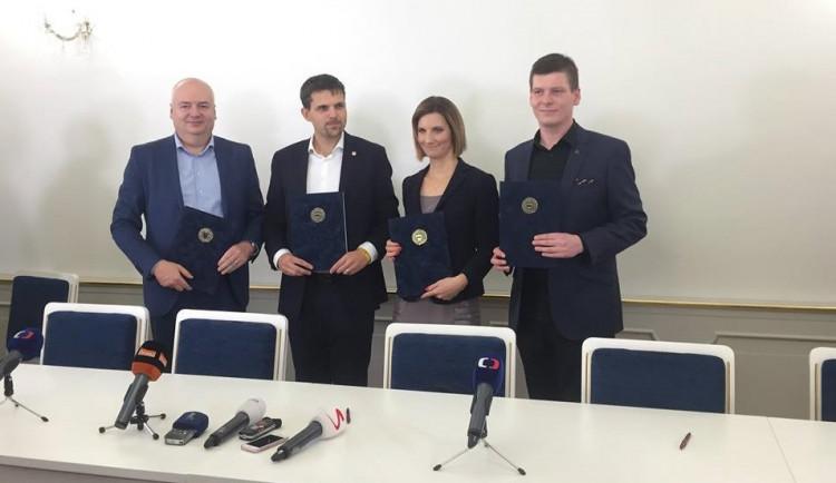 VIDEO: Podepsáno. V Brně vznikla nová koalice, novou primátorkou bude Markéta Vaňková