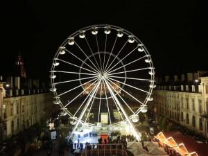 Na Moraváku vyroste během vánočních trhů obří ruské kolo. Nabídne výhled na celé Brno