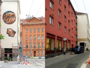 Z domu na Údolní musela zmizet umělecká malba, zakročili památkáři