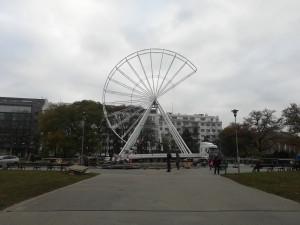 FOTO: Na Moraváku už vyrůstá vánoční ruské kolo