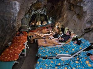 Kraj postaví v Ostrově u Macochy novou dětskou léčebnu, která využívá jeskynní klima
