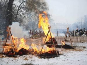 FOTO: Bitva u Slavkova se letos obešla bez Napoleona. Na poslední chvíli onemocněl
