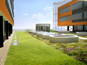 FOTO: Masarykova univerzita staví v areálu kampusu biobanku za 200 milionů