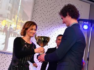 Brněnským sportovcem roku se stal popáté v řadě nejlepší lezec světa Adam Ondra