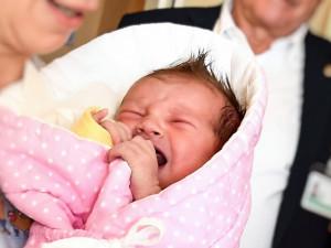 Prvním brněnským miminkem je holčička Terezka