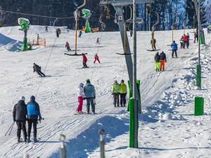 Podmínky pro lyžování jsou na jižní Moravě ideální