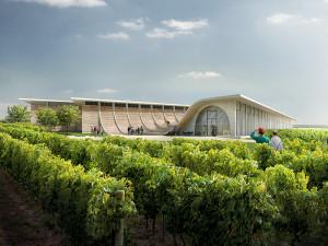 FOTO: Perla mezi vinohrady. U Znojma vyroste moderní vinařské centrum za desítky milionů
