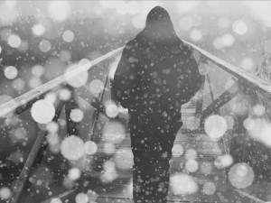 POČASÍ NA SOBOTU: Přes den bude padat sníh nebo déšť se sněhem