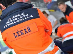 Na dálnici D2 u Blučiny se dnes ráno srazil kamion s osobákem, spolujezdkyně na místě zemřela