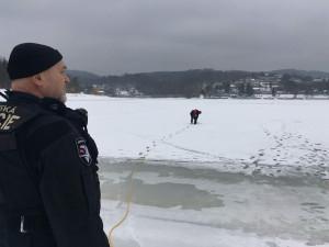 Povodí Moravy upouští kvůli oblevě nádrže, vstup na led je velmi nebezpečný