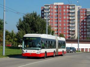 V Brně příští rok postaví trolejbusovou trať po Jedovnické