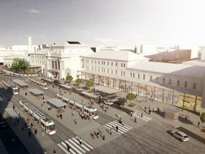 FOTO: Na jaře začne developer s rekonstrukcí hlavního nádraží. Jak se budova promění?