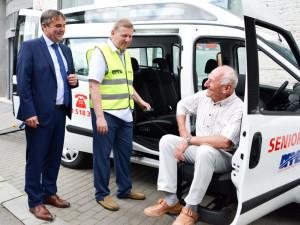 Obliba Seniorbusu v Brně roste, za loňský rok přepravil více než 15 tisíc lidí