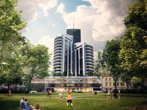 Přes čtyři tisíce Brňanů podepsalo petici proti stavbě mrakodrapu u Lužánek