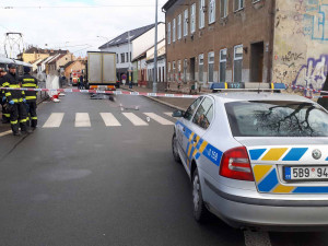U zastávky Životského v Brně srazil kamion seniorku. Žena na místě zemřela
