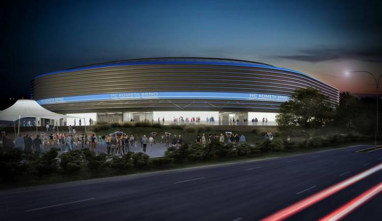 Brno chce mít postavenou halu pro případné mistrovství světa v hokeji v roce 2024