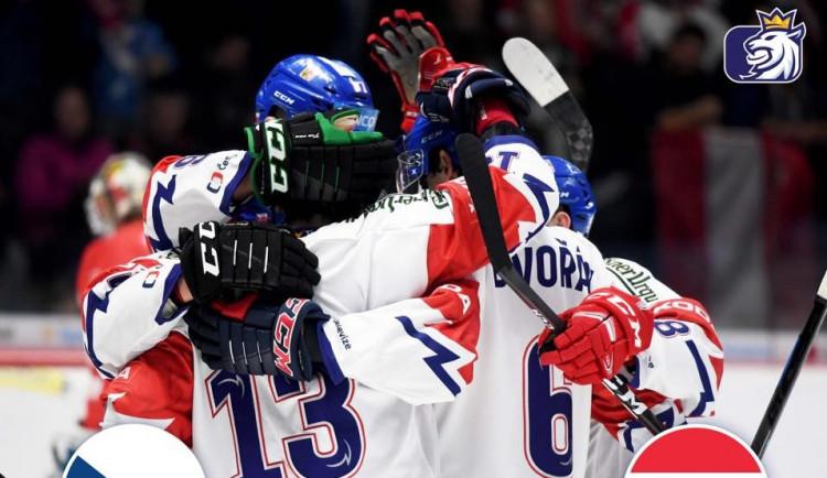 VIDEO/SESTŘIH: Hokejisté v prvním testu před Mistrovstvím světa zdolali ve Znojmě Rakousko 3:1