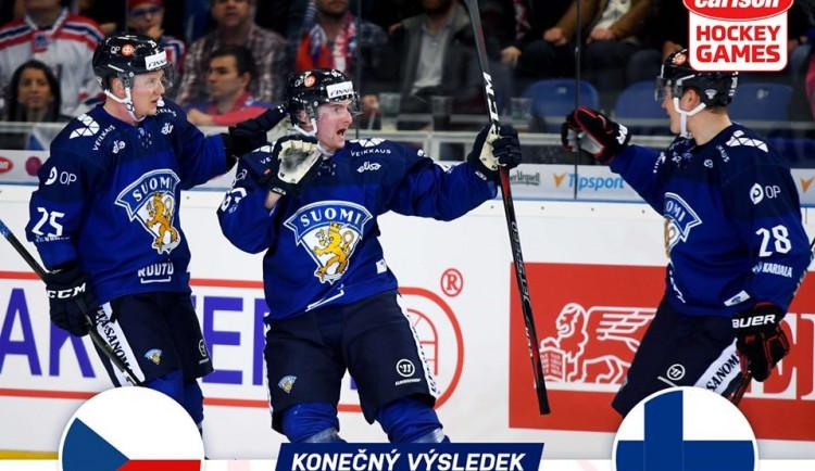 VIDEO/SESTŘIH: Česká hokejová reprezentace v Brně rozehrála generálku na šampionát. S Finskem prohrála 3:2