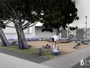 FOTO: Brněnský Bronx se dočká revitalizace. Přibudou nové lavičky i herní prvky pro děti