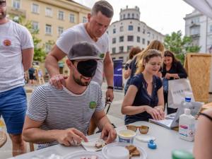 V Brně zítra začíná Tmavomodrý festival. Lidem ukáže život se zrakovým hendikepem