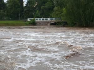 Meteorologové vydali výstrahu: jihu Moravy hrozí povodně